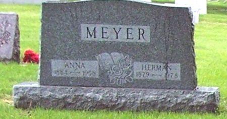 MEYER, ANNA - Calhoun County, Iowa | ANNA MEYER