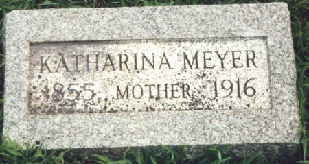 MEIER MEYER, KATHARINA - Calhoun County, Iowa | KATHARINA MEIER MEYER