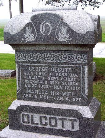 OLCOTT, GEORGE - Calhoun County, Iowa | GEORGE OLCOTT