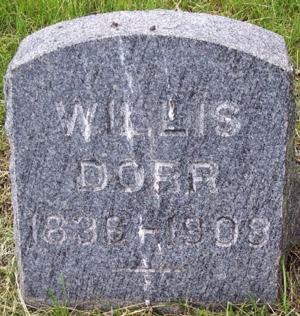 PARKER, WILLIS DORR - Calhoun County, Iowa | WILLIS DORR PARKER