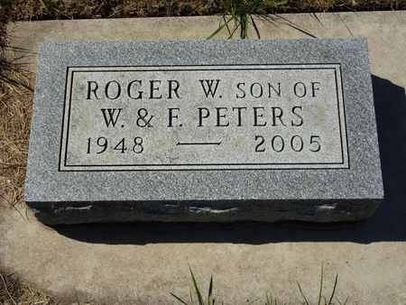 PETERS, ROGER W. - Calhoun County, Iowa | ROGER W. PETERS