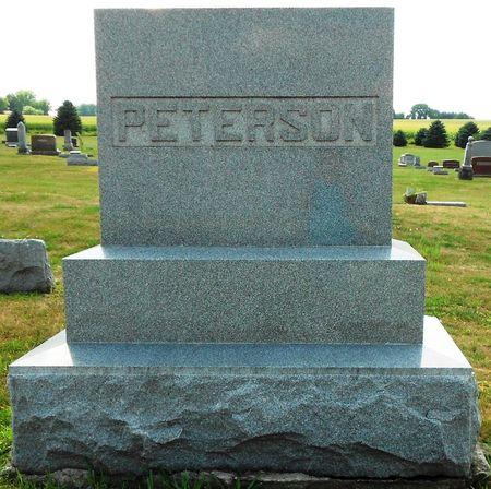 PETERSON, FAMILY MEMORIAL - Calhoun County, Iowa | FAMILY MEMORIAL PETERSON
