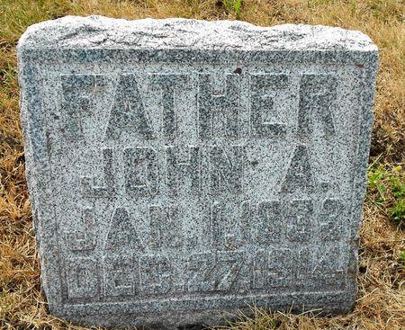 PETERSON, JOHN A - Calhoun County, Iowa   JOHN A PETERSON