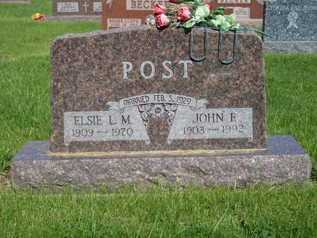 HOLTAPP POST, ELSIE - Calhoun County, Iowa | ELSIE HOLTAPP POST