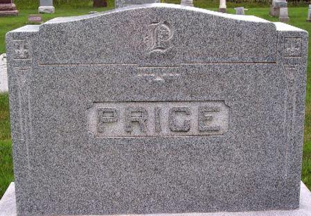 PRICE, MEMORIAL - Calhoun County, Iowa   MEMORIAL PRICE