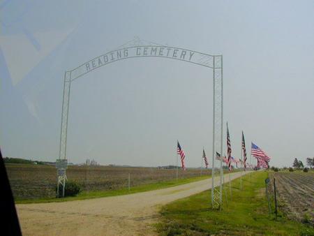 READING, CEMETERY - Calhoun County, Iowa | CEMETERY READING