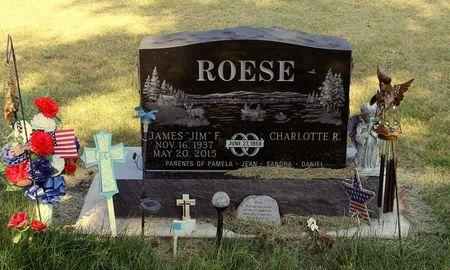 ROESE, JAMES F. - Calhoun County, Iowa   JAMES F. ROESE