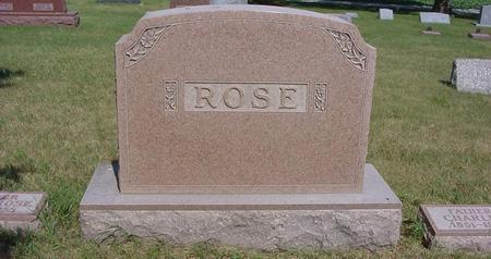 ROSE, CHARLES - Calhoun County, Iowa | CHARLES ROSE
