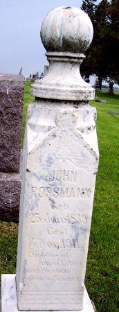 ROSSMANN, JOHN - Calhoun County, Iowa   JOHN ROSSMANN