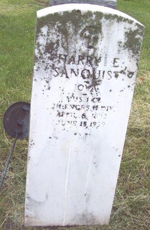 SANQUIST, HARRY F - Calhoun County, Iowa | HARRY F SANQUIST