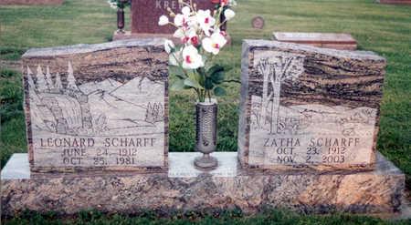 MURPHY SCHARFF, ZATHA ARLENE - Calhoun County, Iowa | ZATHA ARLENE MURPHY SCHARFF