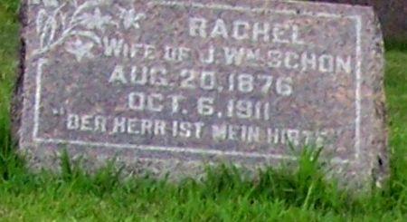 SCHON, RACHEL - Calhoun County, Iowa   RACHEL SCHON
