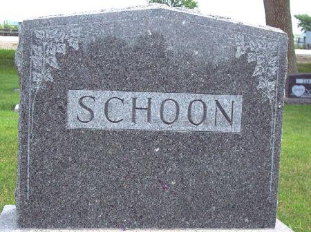 SCHOON, FAMILY MEMORIAL - Calhoun County, Iowa | FAMILY MEMORIAL SCHOON
