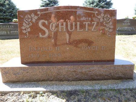 SCHULTZ, HAROLD H. - Calhoun County, Iowa | HAROLD H. SCHULTZ