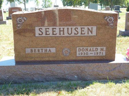 SEEHUSEN, DONALD M. - Calhoun County, Iowa | DONALD M. SEEHUSEN