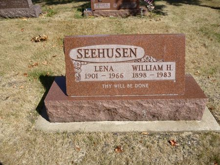 SEEHUSEN, WILLIAM H. - Calhoun County, Iowa | WILLIAM H. SEEHUSEN