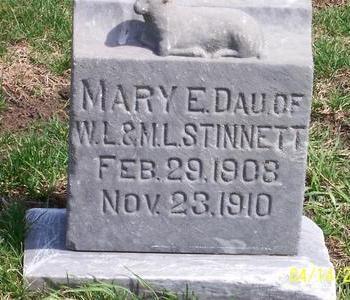 STINNETT, MARY E. - Calhoun County, Iowa | MARY E. STINNETT