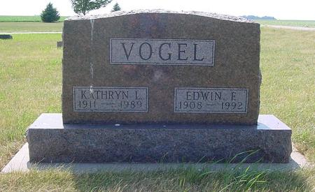 VOGEL, EDWIN - Calhoun County, Iowa | EDWIN VOGEL