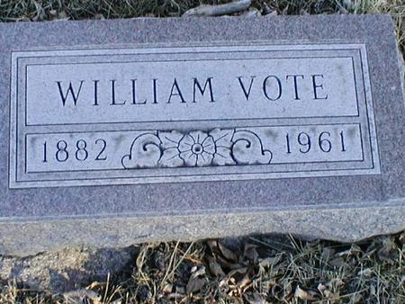 VOTE, WILLIAM - Calhoun County, Iowa | WILLIAM VOTE