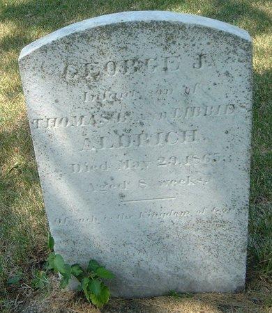 ALDRICH, GEORGE J. - Carroll County, Iowa   GEORGE J. ALDRICH