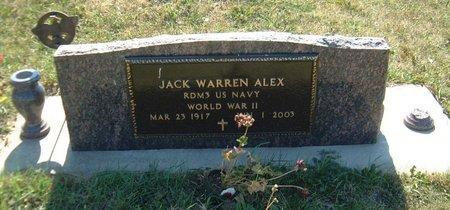 ALEX, JACK WARREN - Carroll County, Iowa | JACK WARREN ALEX