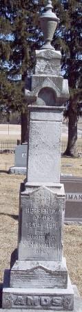 AMOS, HERBERT W - Carroll County, Iowa | HERBERT W AMOS
