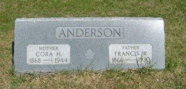 ANDERSON, FRANCIS W. - Carroll County, Iowa   FRANCIS W. ANDERSON