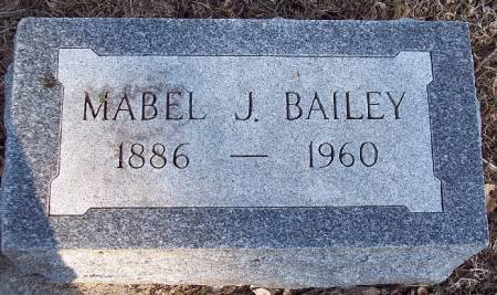 BAILEY, MABEL J - Carroll County, Iowa | MABEL J BAILEY