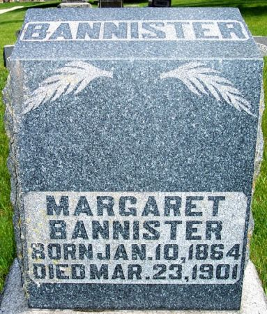 BANNISTER, MARGARET - Carroll County, Iowa | MARGARET BANNISTER