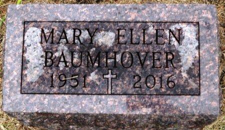 BAUMHOVER, MARY ELLEN - Carroll County, Iowa   MARY ELLEN BAUMHOVER