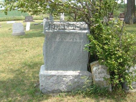 BENEDICT, FAMILY MONUMENT - Carroll County, Iowa   FAMILY MONUMENT BENEDICT