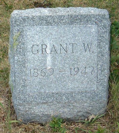 BENEDICT, GRANT W. - Carroll County, Iowa   GRANT W. BENEDICT