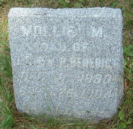BENEDICT, MOLLIE M. - Carroll County, Iowa | MOLLIE M. BENEDICT