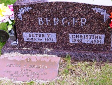 BERGER, CHRISTINE - Carroll County, Iowa | CHRISTINE BERGER