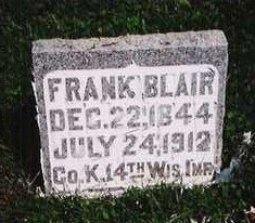 BLAIR, FRANK - Carroll County, Iowa | FRANK BLAIR