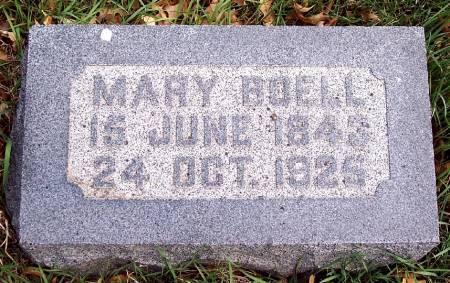 PLUCKHAHN BOELL, MARY - Carroll County, Iowa   MARY PLUCKHAHN BOELL