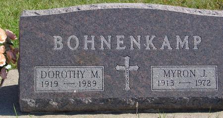 BOHNENKAMP, MYRON & DOROTHY - Carroll County, Iowa   MYRON & DOROTHY BOHNENKAMP
