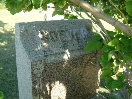 BORDER, FAMILY MONUMENT - Carroll County, Iowa | FAMILY MONUMENT BORDER