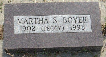 BOYER, MARTHA S.