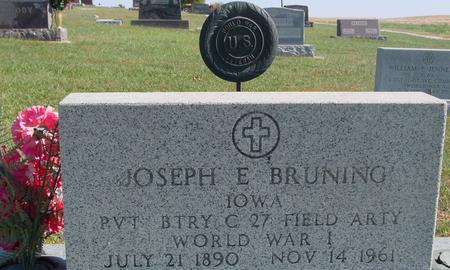 BRUNING, JOSEPH E. - Carroll County, Iowa | JOSEPH E. BRUNING