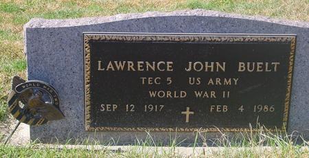 BUELT, LAWRENCE JOHN - Carroll County, Iowa | LAWRENCE JOHN BUELT
