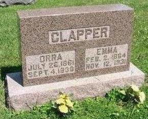 CLAPPER, ORRA - Carroll County, Iowa | ORRA CLAPPER