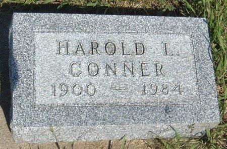 CONNER, HAROLD L. - Carroll County, Iowa | HAROLD L. CONNER