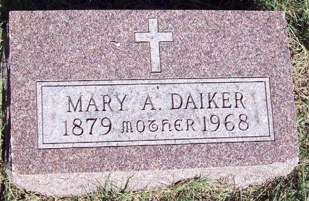 DAIKER, MARY ANN - Carroll County, Iowa | MARY ANN DAIKER