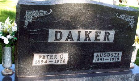 DAIKER, AUGUSTA - Carroll County, Iowa | AUGUSTA DAIKER