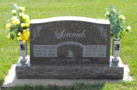 HACKER DAVID, HELEN LEE - Carroll County, Iowa | HELEN LEE HACKER DAVID