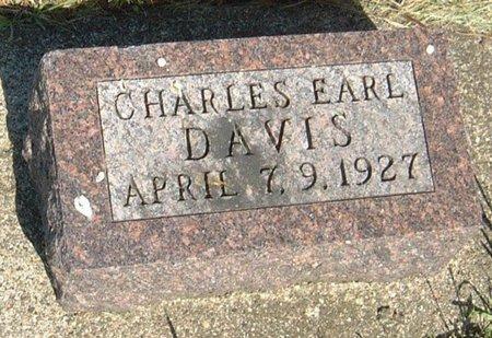 DAVIS, CHARLES EARL - Carroll County, Iowa | CHARLES EARL DAVIS