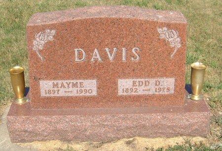 DAVIS, EDD D. - Carroll County, Iowa | EDD D. DAVIS