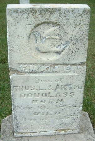 DOUGLASS, EMMA B. - Carroll County, Iowa | EMMA B. DOUGLASS