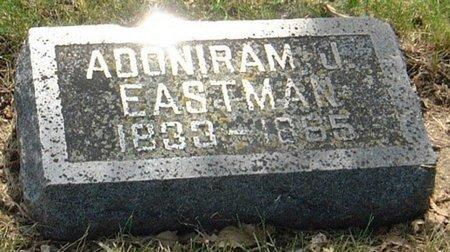 EASTMAN, ADONIRAM J. - Carroll County, Iowa   ADONIRAM J. EASTMAN